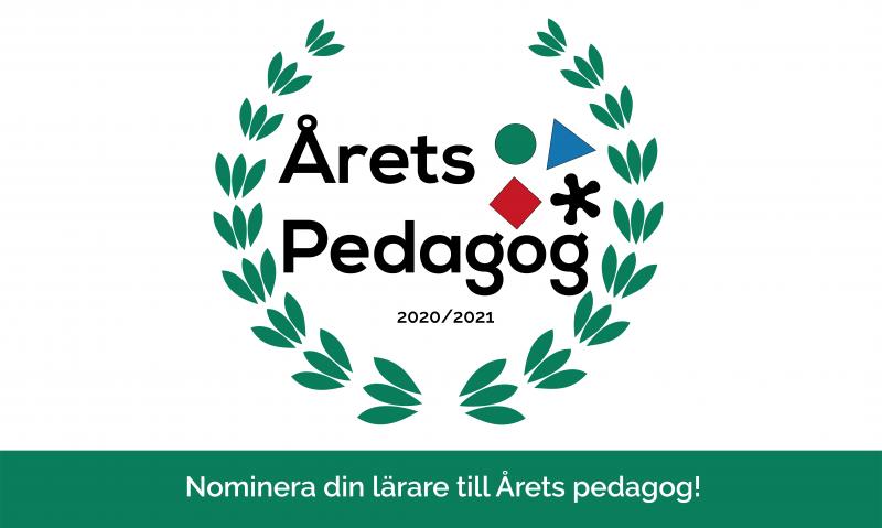 arets pedagog 2021